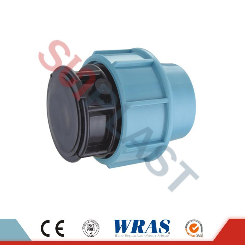 PP Compression Pipe Cap