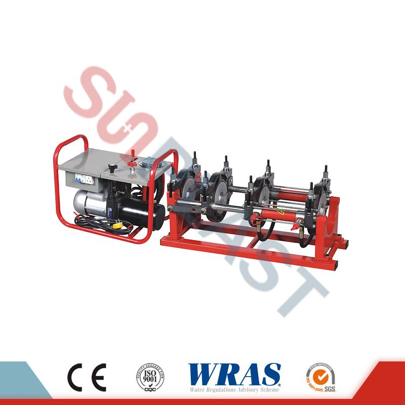 63-160mm Hydraulic Butt Fusion Welding Machine For HDPE Pipe