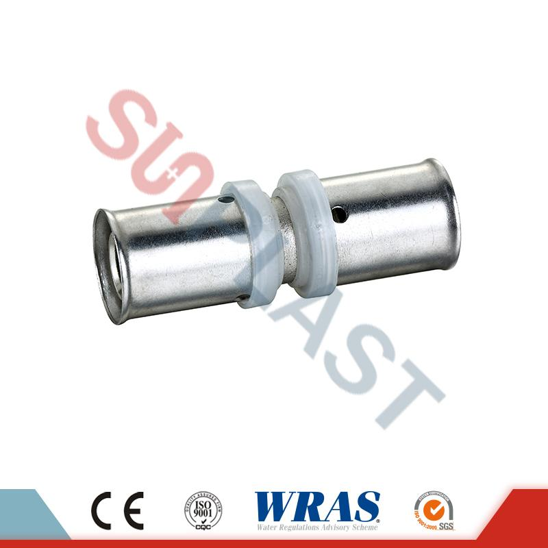 PEX-AL-PEX Pipe Press Coupler