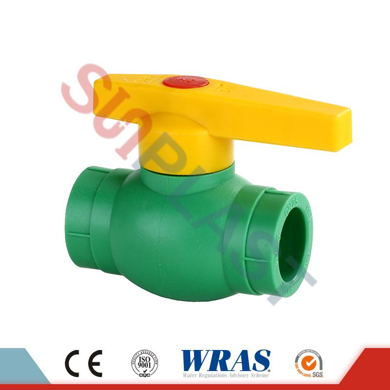 White PPR Ball Valve