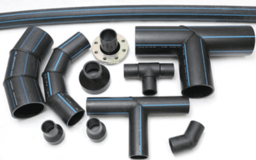 HDPE pipe fittings For Water
